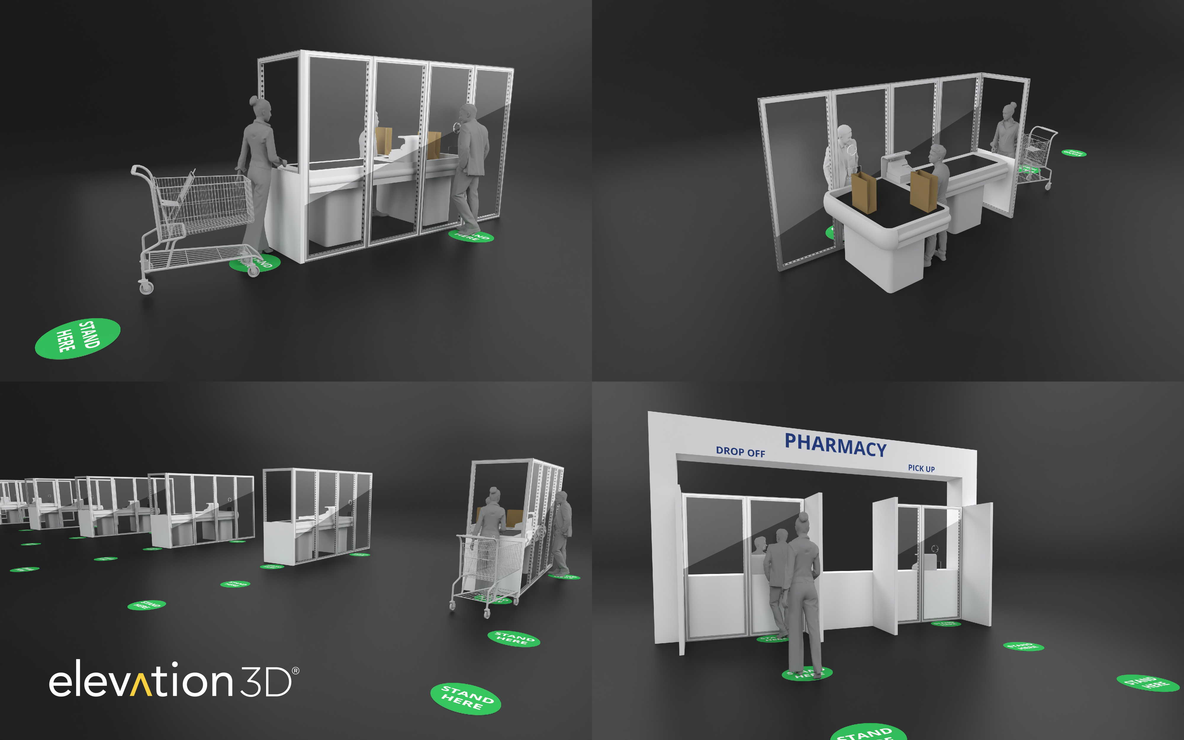 Elevation3D Essential Business Solutions - Grocery, Pharma, Retail